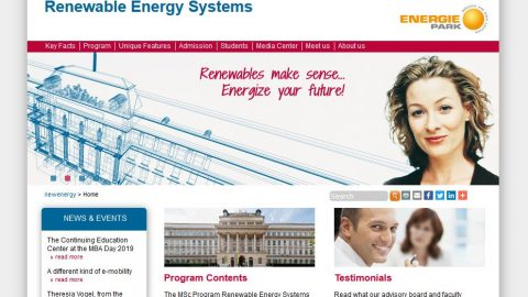 Scholarship for Women: MSc Renewable Energy Systems