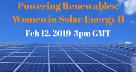 ISES Webinar: Powering Renewables – Women in Solar Energy II