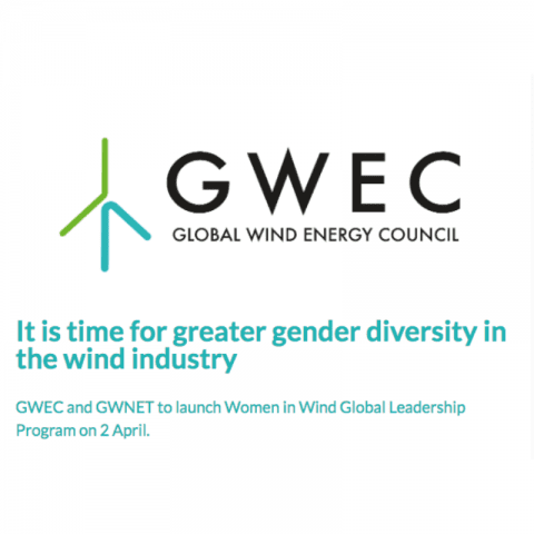 GWEC and GWNET to launch Women in Wind Global Leadership Program on 2 April