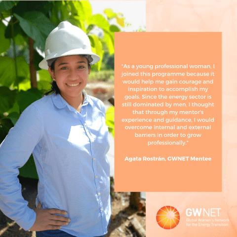 Meet the Women in the Energy Transition: Agata Rostrán
