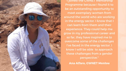 Meet the Women in the Energy Transition: Ana Lucía Alfaro