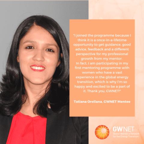 Meet the Women in the Energy Transition: Tatiana Orellana