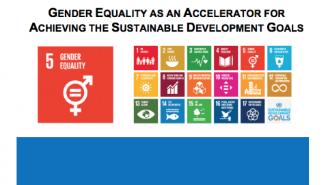 Gender Equality as an Accelerator for Achieving the SDGs
