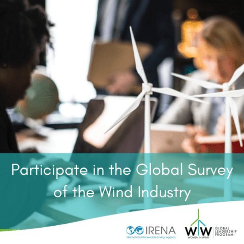 Participate in the Global Gender Survey of the Wind Industry