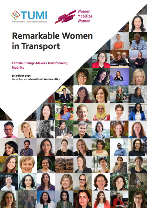 Remarkable Women in Transport: Female Change-Makers Transforming Mobility