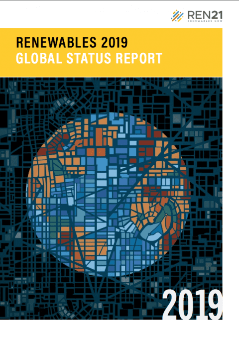 REN 21 Launches the Renewables 2019 Global Status Report (GSR)
