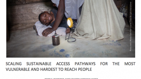 Scaling Sustainable Access Pathway for the Most Vulnerable and Hardest to Reach People