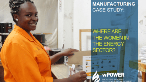 BURN Manufacturing Case Study: Where Are the Women in the Energy Sector?