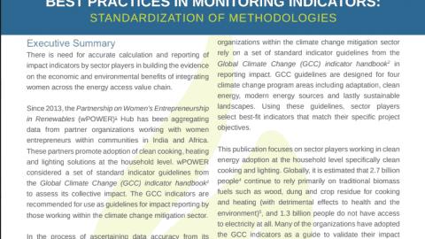 Best Practices In Monitoring Indicators