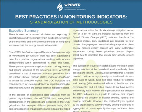 Best Practices In Monitoring Indicators