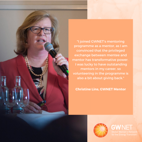 Meet the Women in the Energy Transition: Christine Lins