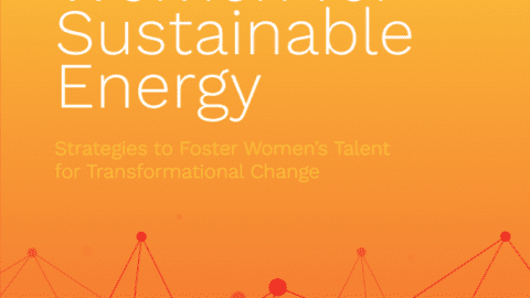 Strategies for the Increased Inclusion of Women in the Sustainable Energy Sector