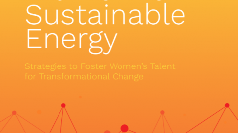 "GWNET Launches the ""Women for Sustainable Energy: Strategies to Foster Women's Talent for Transformational Change"" Study"