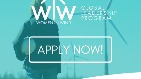 Women in Wind Global Leadership Program announces call for applications to empower women working in the wind industry