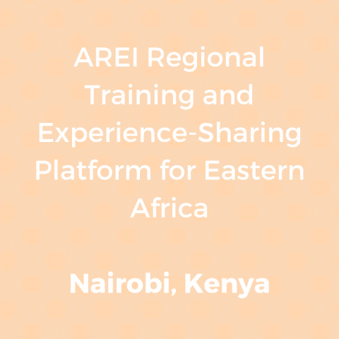AREI Regional Training and Experience-Sharing Platform for Eastern Africa