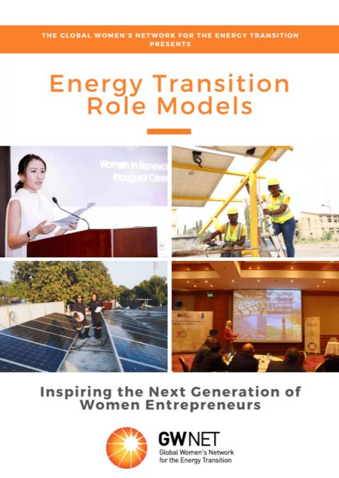 Energy Transition Role Models: Inspiring the Next Generation of Women Entrepreneurs (Brochure)