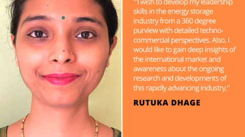 Rutuka Dhage Energy Storage Quote