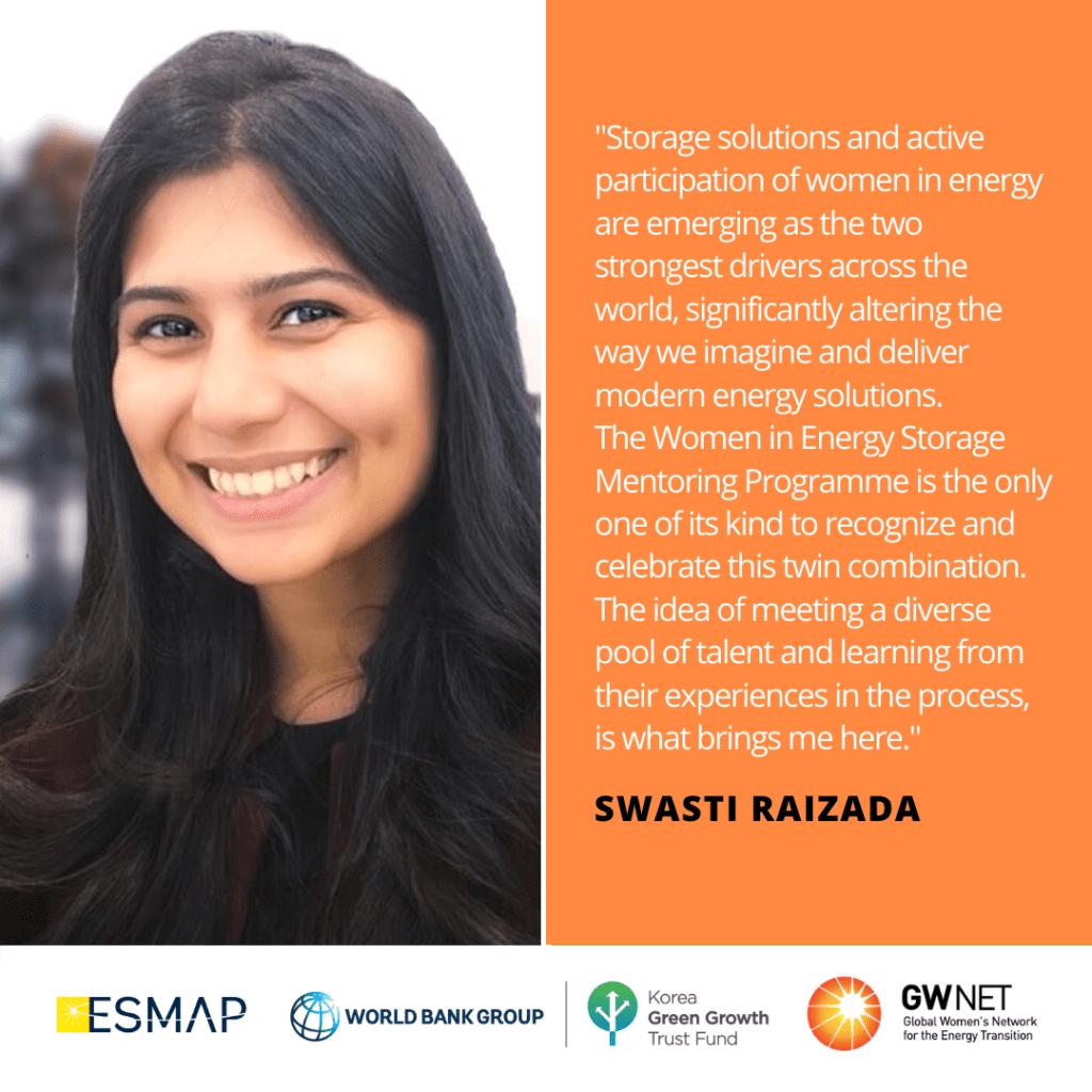 Swasti Raizada Energy Storage Quote