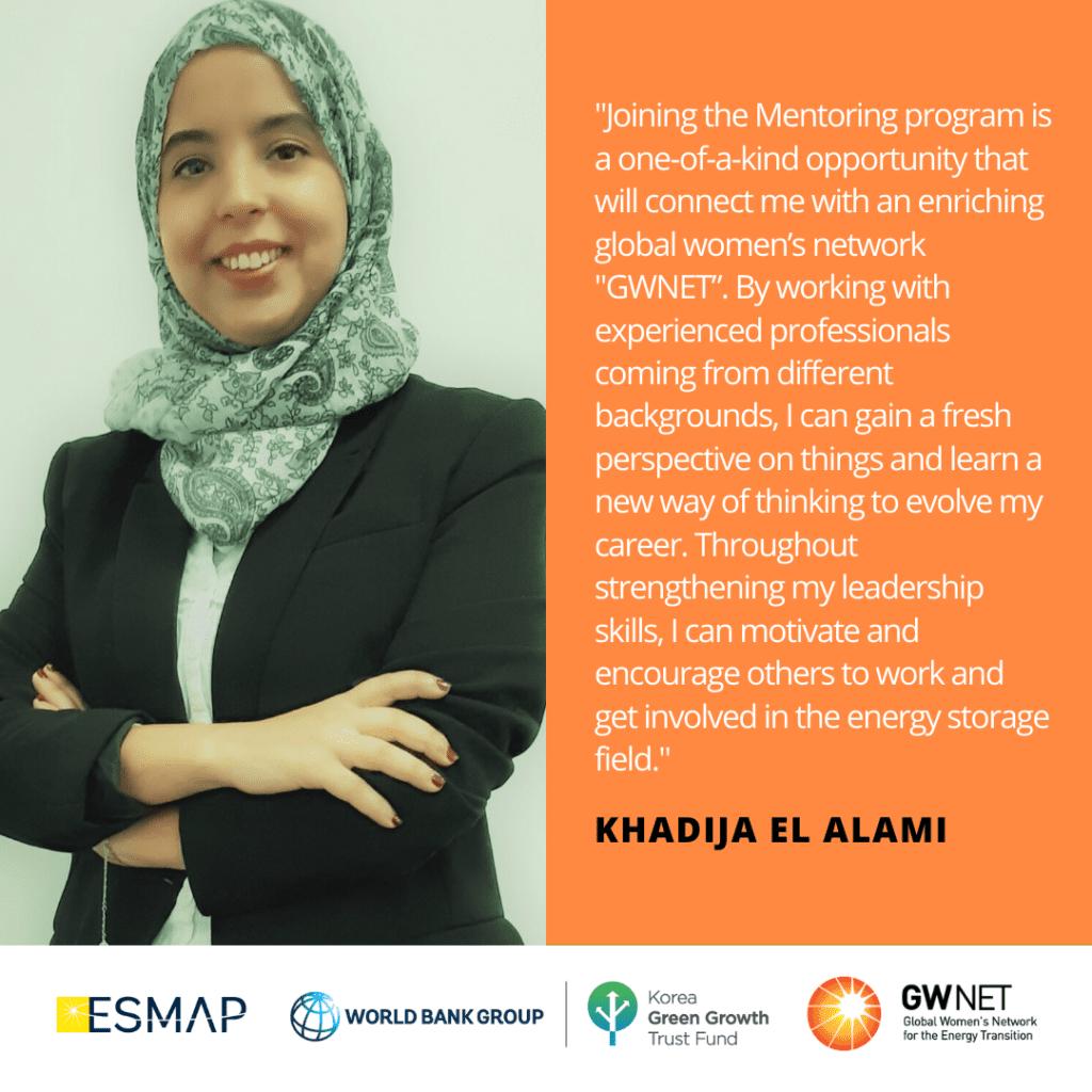 Khadija El Alami Energy Storage Quote