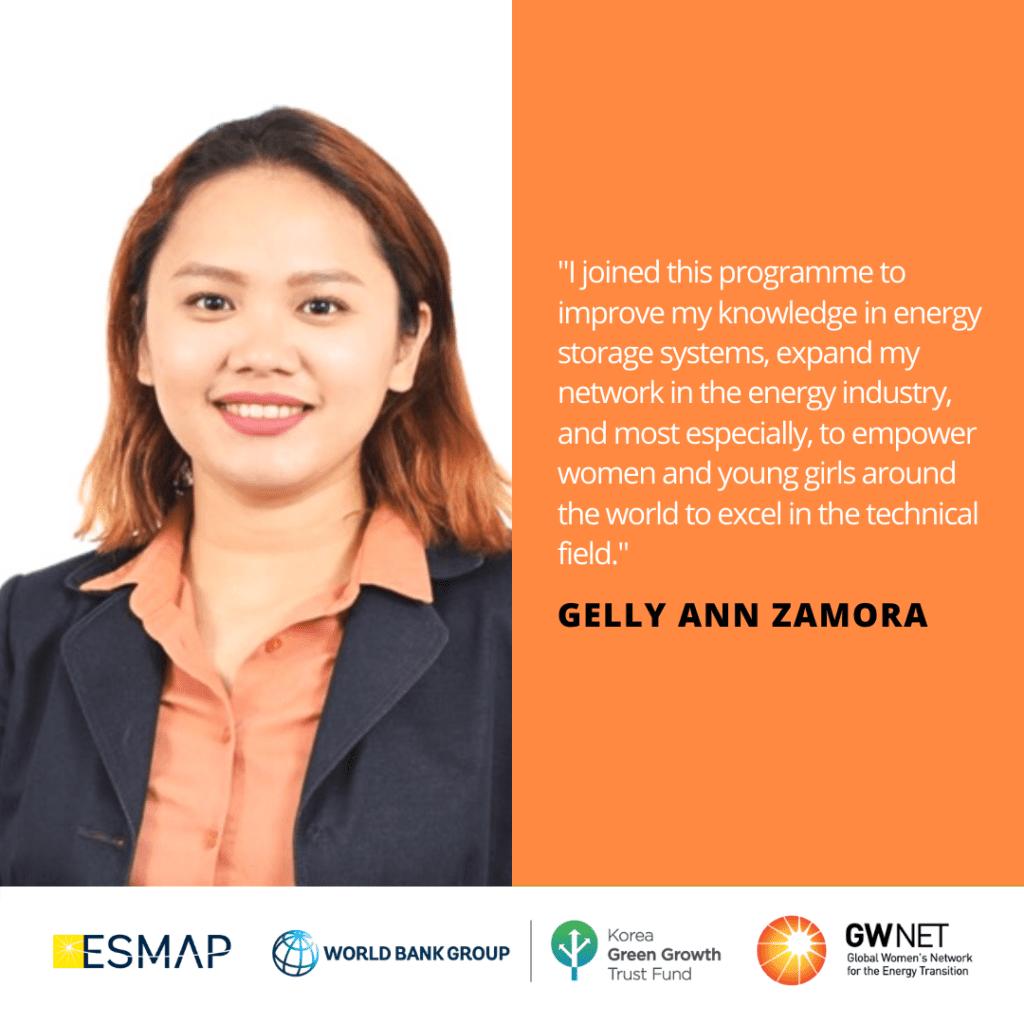 Gelly Zamora Energy Storage Quote
