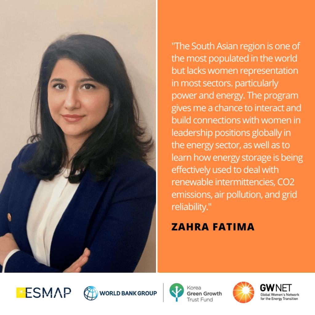 Zahra Fatima Energy Storage Quote
