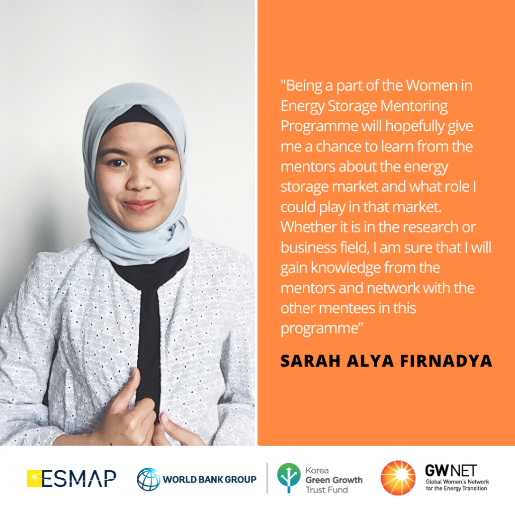 Sarah Alya Energy Storage Quote