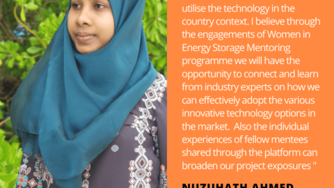 Nuzuhath Ahmed Energy Storage Quote