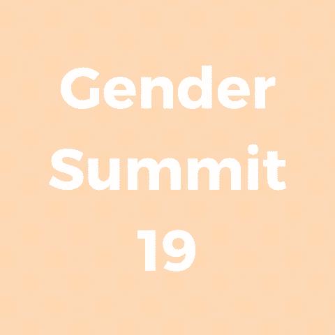 Gender Summit 19