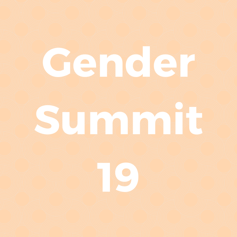 Gender Summit 19