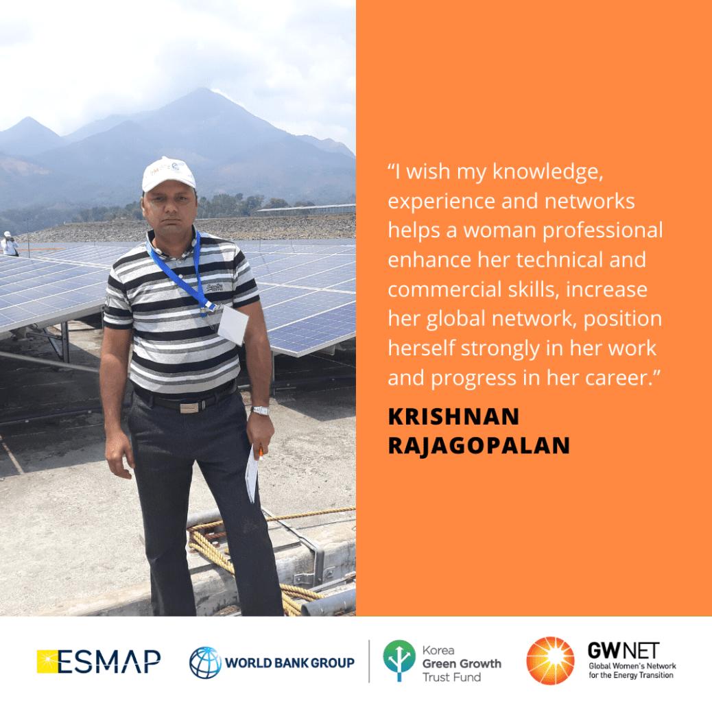 Krishnan Rajagopalan Women in Energy Storage Mentoring Programme