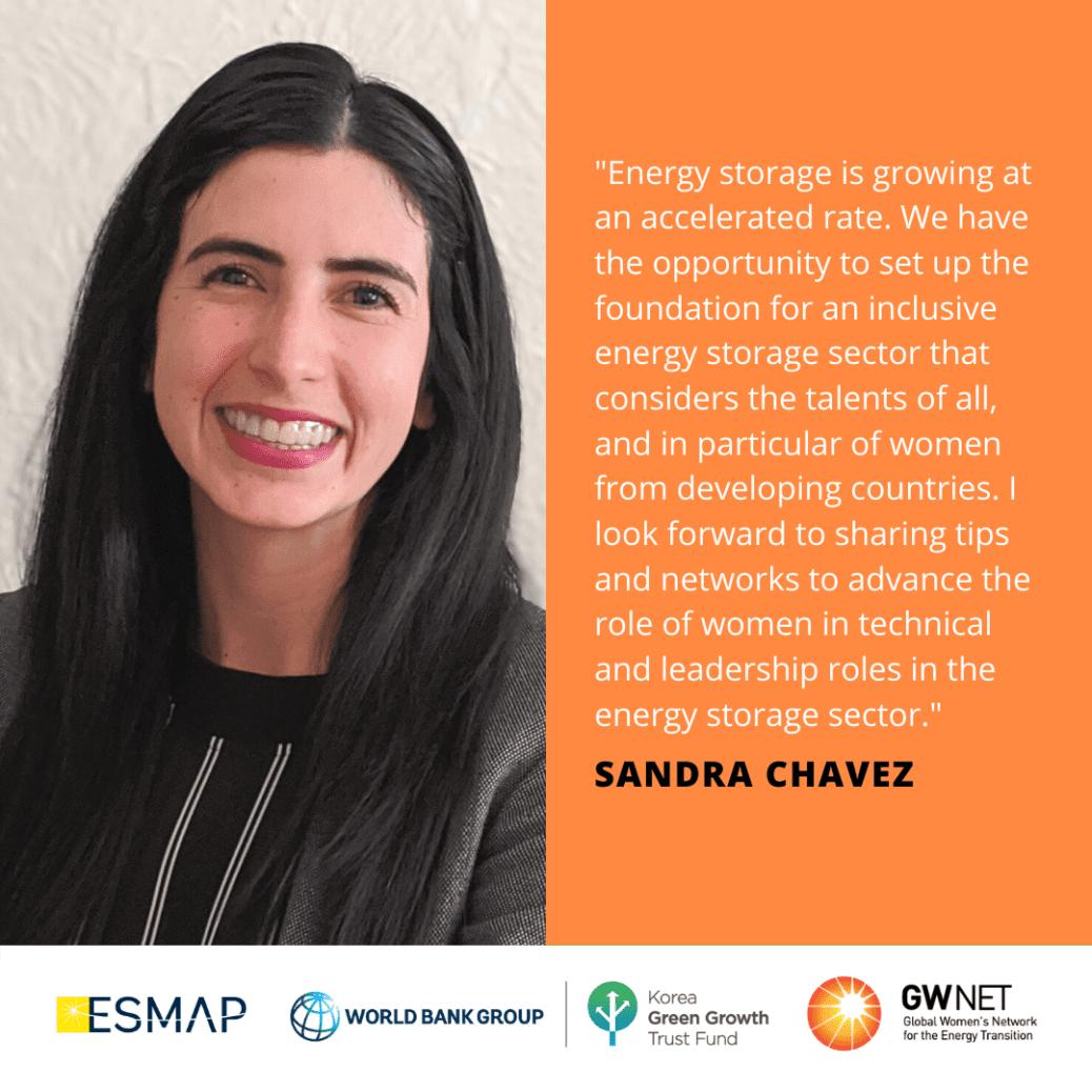 Sandra Chavez Energy Storage Quote