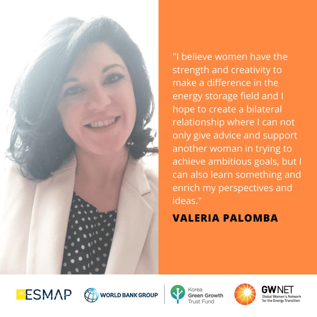 Valeria Palomba Energy Storage Quote