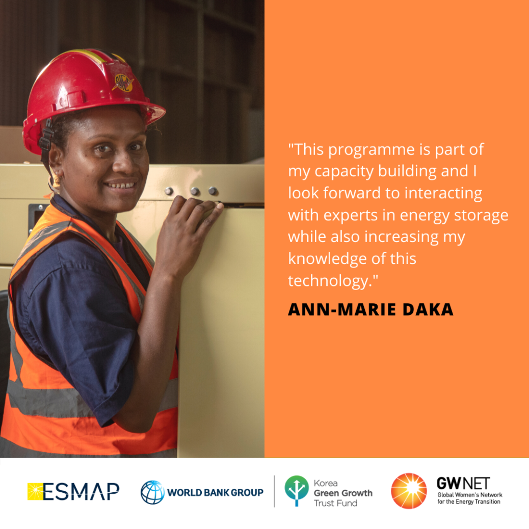 Ann-Marie Daka Energy Storage Quote