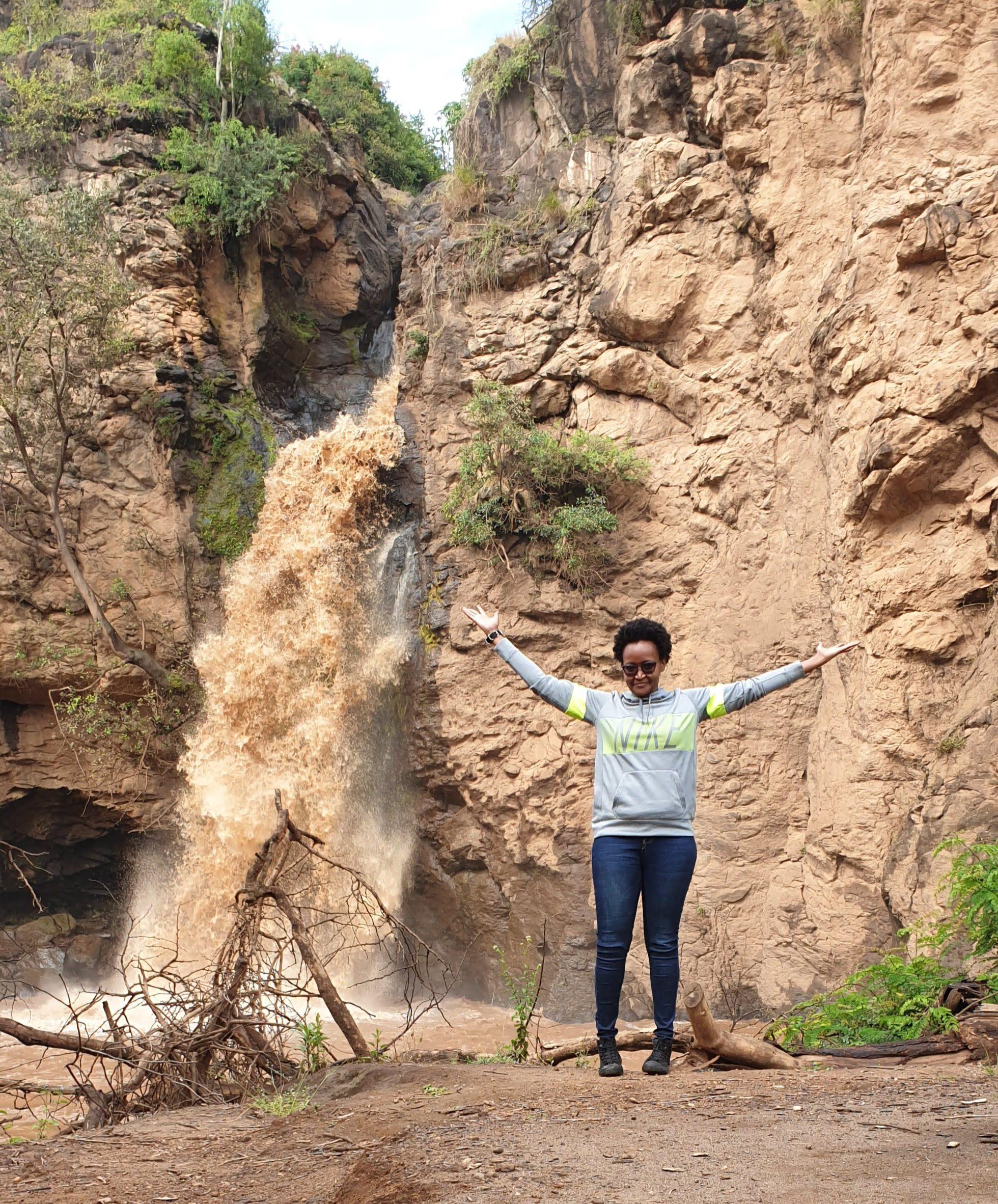 Wilfrida Macharia outdoors