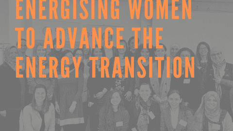 Poster - Energising Women to Advance the Energy Transition
