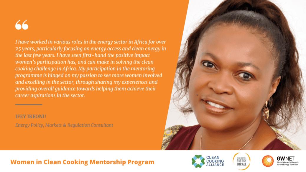 Ifey Ikeonu WICC Mentorship Program