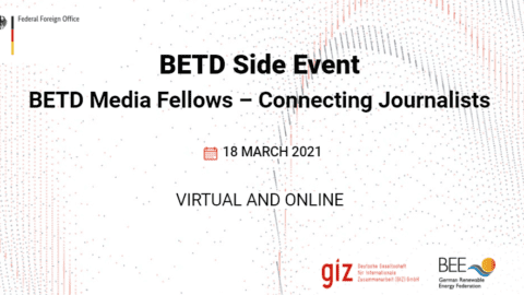 BETD Media Fellows 2021