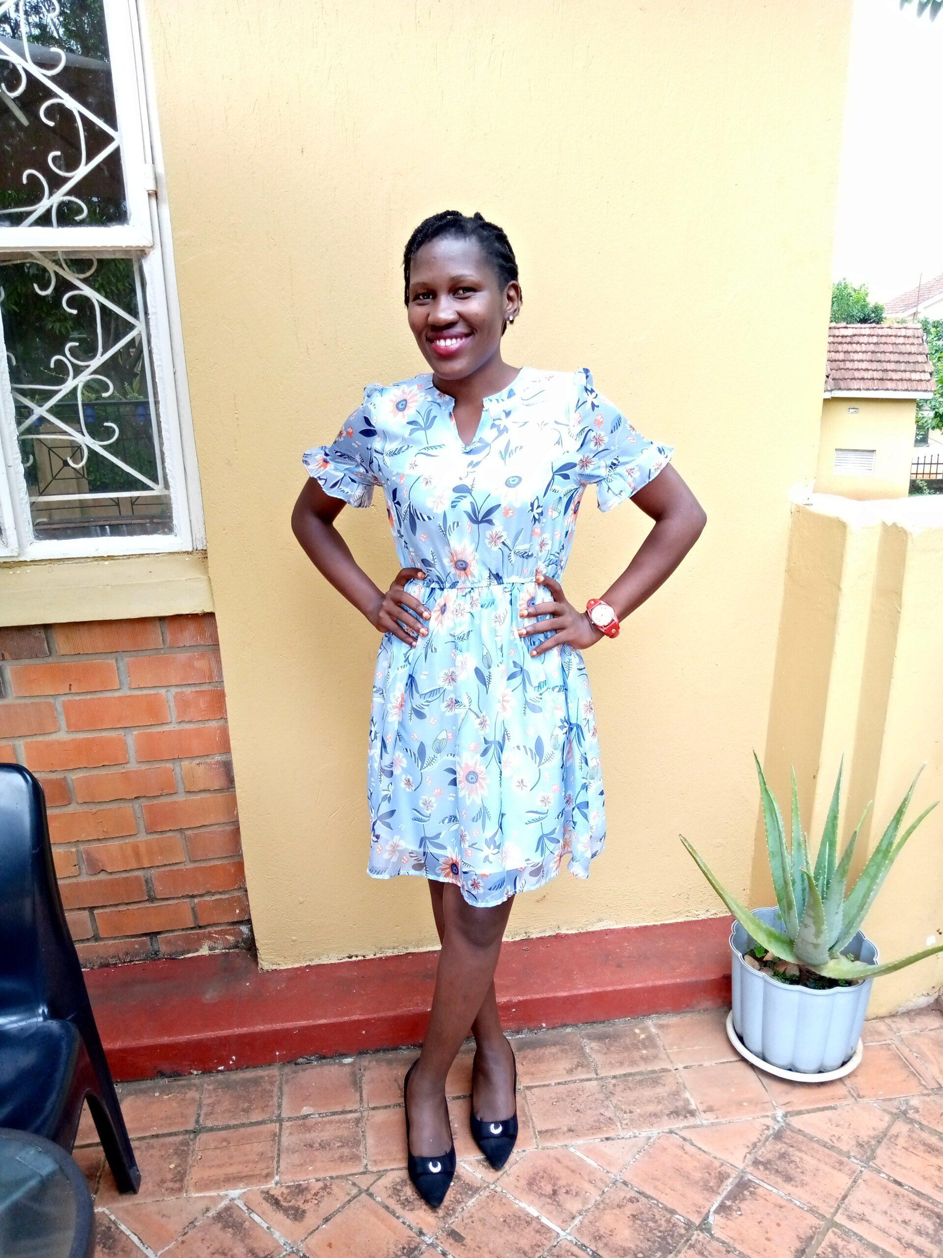 Brenda Mutalaza outdoors