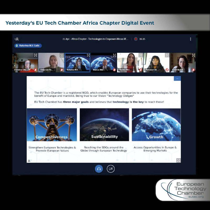 EU Tech Africa Chapter Webinar