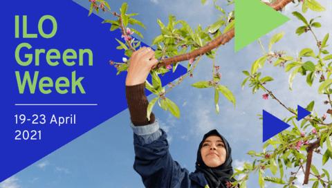 ILO Green Energy Week Poster