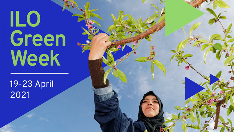ILO Green Energy Week Poster