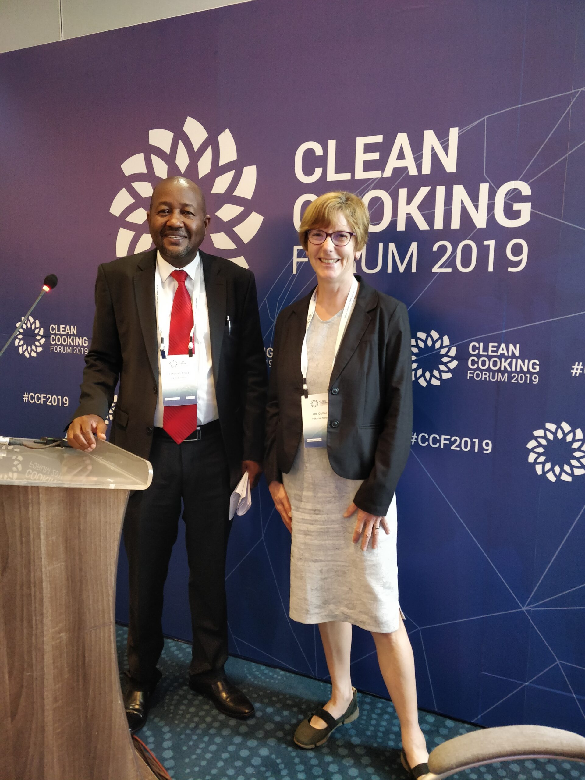 Ute Collier Clean Cooking Forum 2019