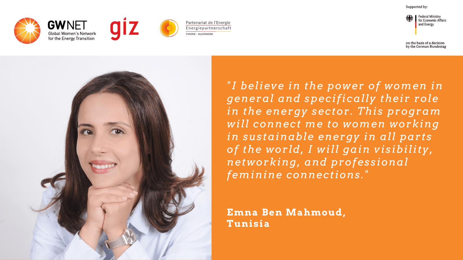 Emna Ben Mahmoud quote