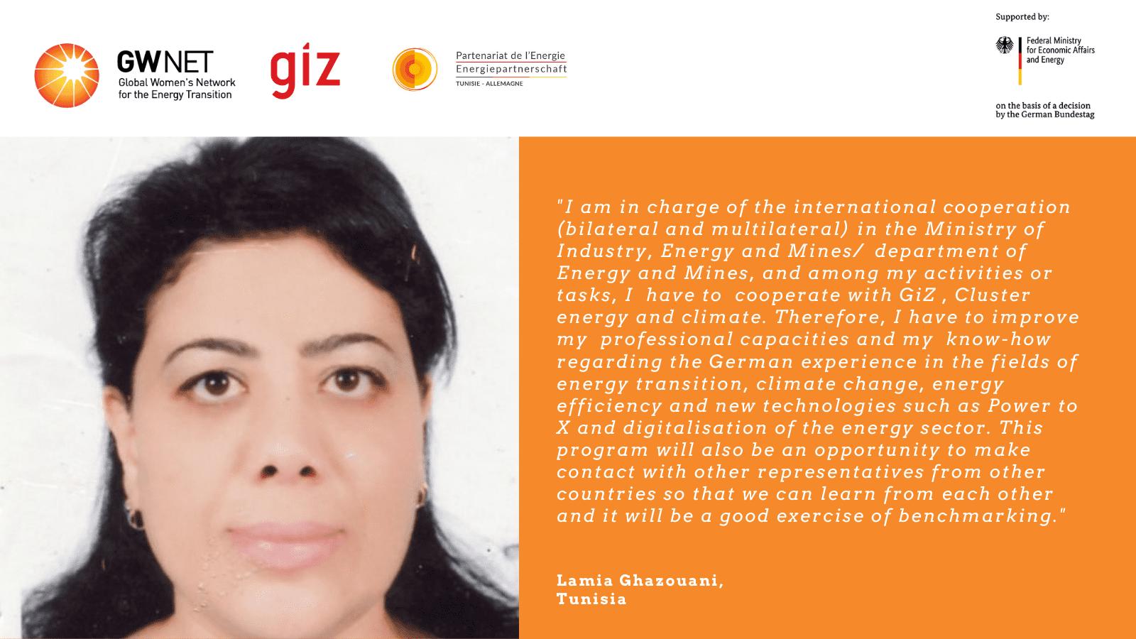 Lamia Ghazouani quote