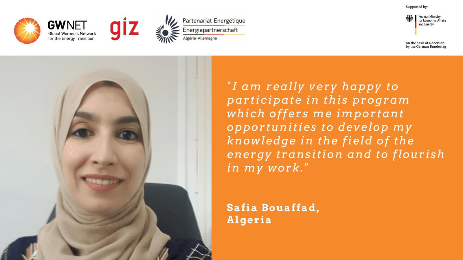 Safia Bouaffad quote