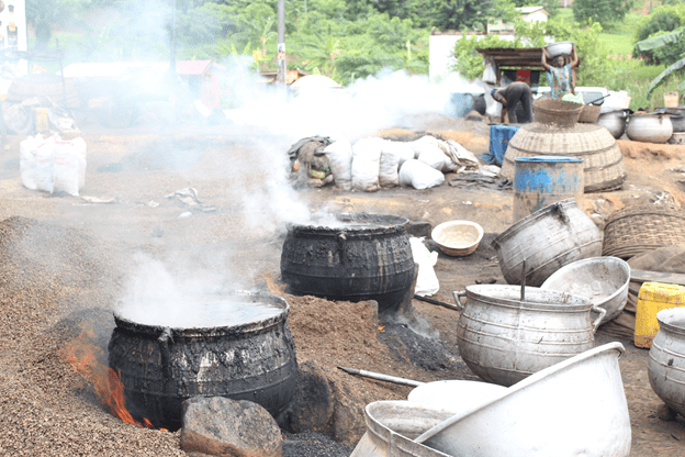 Traditional cookstoves in Ghana